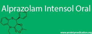 Alprazolam Intensol Oral