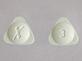 Alprazolam Intensol Oral XANAX XR 3 MG TABLET