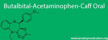 Butalbital-Acetaminophen-Caff Oral