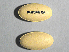 Butalbital-Acetaminophen-Caff Oral DARVON-N 100 MG TABLET