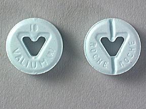 Diazepam Intensol Oral VALIUM 10 MG TABLET