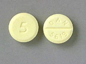Diazepam Oral DIAZEPAM 5 TABLET