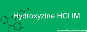 Hydroxyzine HCl IM