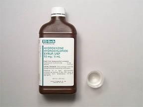 Hydroxyzine HCl Oral HYDROXYZINE 10 MG