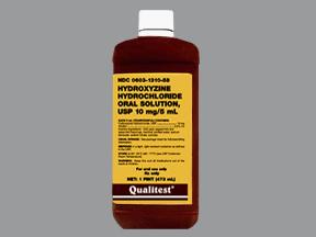 Hydroxyzine HCl Oral HYDROXYZINE 10 MG_5 ML SYRUP