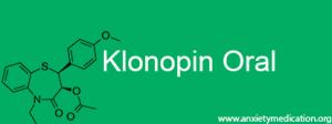 Klonopin Oral
