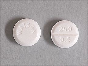 Lorazepam Intensol Oral 0.5 MG TABLET