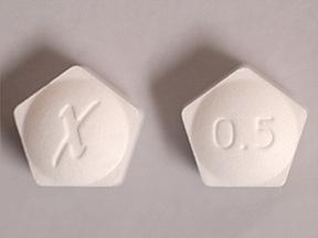 Xanax Oral XANAX XR 0.5 MG TABLET