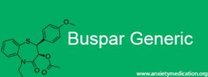 Buspar generic