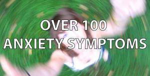 100 anxiety symptoms
