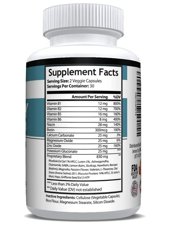 NutriSuppz supplement facts