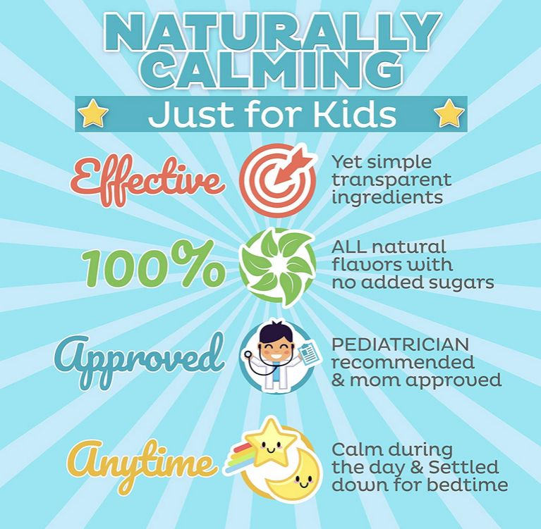 naturaly claming for kids