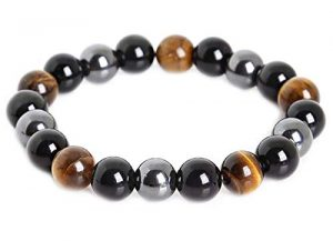 Mens anxiety bracelet hematite
