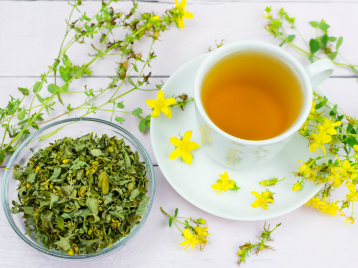 st johns wort tea for anxiety