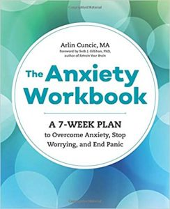 anxiety workbook by arlin cuncic