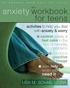 anxiety workbook for teens